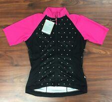 Giro Women's Chrono Sport Pink Black Jersey Size S New