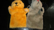 SOOTY AND SWEEP HAND PUPPETS BY PATSY B VGC