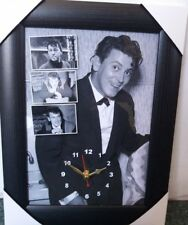 Gene Vincent Wall Clock Elvis/Eddie Cohran/Rockabilly