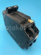 Ge Thqp240 40 Amp 2 Pole Type Thqp Plug On Circuit Breaker 120240v