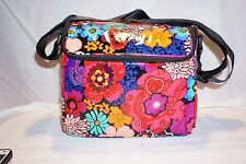 Vera Bradley FLORAL FIESTA Stay Cooler Insulated Lunch BAG NWT