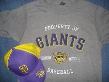 San Francisco Giants SF State University Gators Hat & Large T-shirt Cap