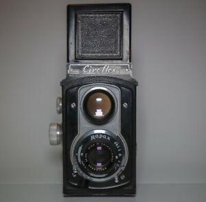 Ciro-flex 6x6 Medium Format TLR - Rapax 85mm f:3.5 Lens Incl. Orig. Leather Case