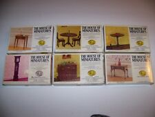 Lot of 6 The House of Miniatures Vintage Dollhouse X-acto Furniture Kits NIB