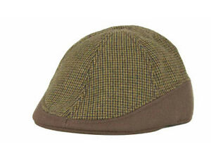PL Houndstooth Modified Driver Gatsby Newsboy Cabbie Hat Cap Fashion Dress S/M