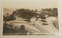 Vintage Real Photo Post Card RPPC Hotel Ragan Oregon Coast Highway Florence OR