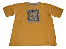Mexx tolles T-Shirt Gr. 134 / 140 gelb mit Druckmotiv !!