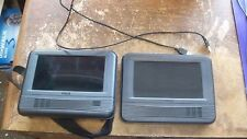 RCA DRC69705E28G Dual Screen Portable DVD Player/ Gaming System Comes As Is!!!