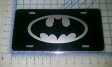 Batman car tag/ license plate (silver)