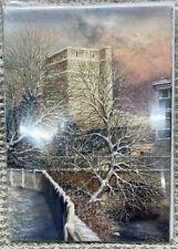 St George's Town Oxford Castle By Artist Ken Messer Charity Christmas Cards X5