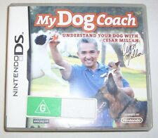Nintendo DS - My Dog Coach game - Understand your dog with Cesar Millan