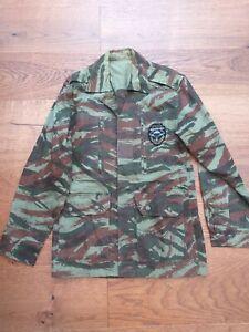 French lizard camo para smock TAP jacket jungle bush Foreign legion airborne L