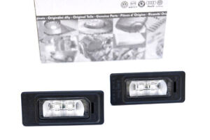 Original Audi LED Kennzeichenbeleuchtung Leuchte A4 A6 S6 RS5 A5 Nummernschild