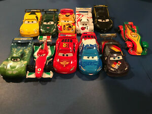 Disney Pixar Cars 2 World Grand Prix Racers Lot of 11 Diecast (Pre-Owned)