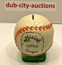 New ListingVintage ~ 1950's ~ Official Little League ~ Baseball ~ Coin Bank ~ Rare