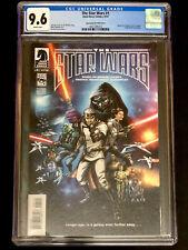 The Star Wars #1 Jan Duursema 1:25 Variant CGC 9.6 Comic Dark Horse Comic 2013
