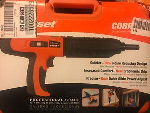 Ramset 16942 Cobra+ 0.27 Caliber Semi-Automatic Powder Actuated Tool W/Silencer