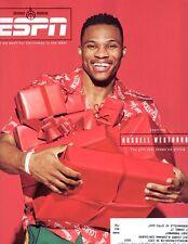 ESPN Magazine - DEC 25, 2017 - RUSSELL WESTBROOK COVER - NBA THUNDER