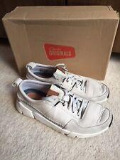 Clarks Mens Shoes Light Grey Size 7