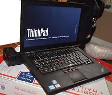 "Lenovo T420s 14"" LED HD laptop core i5 2.5GHz 4GB 500GB Windows 7 Thinkpad Dock"