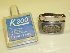 K 300 (cometa) dbgm 60 Pocket lighter with Lacquer motivos - 1960-Embalaje original-Germany