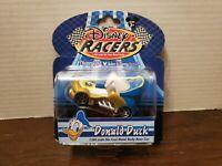 Disney Parks Racers Donald Duck 1/64 Die Cast Metal Body Race Car NEW