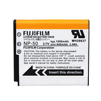Genuine FUJIFILM NP-50 Battery pack OEM Fuji Z JX digital camera NP 50 NP50 NEW