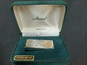 Anson Money Clip with 14kt yellow plate