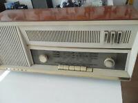 PANART INTERMEZZO RADIO VALVOLARE,DA RIPARARE,ANNI '60 VINTAGE.