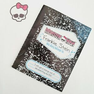 MONSTER HIGH Frankie Stein - Doll Spares - Replacement Diary Journal