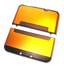 Nintendo *NEW* 3DS XL 3DSXL Orange Gold Aluminium Metal Case Cover Shell Housing