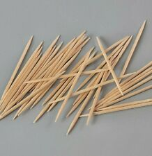 100+ Wooden Tooth Picks Small Cocktail Sticks 6cm - Environmentally Friendly