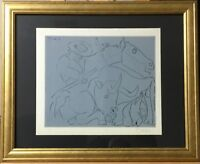 """Pablo Picasso Signed and Numbered Linocut """"La Pique Cassee"""" (Bloch 921)"""
