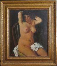 ~ MANJIRO TERAUCHI PAINTING Listed Artist Vintage CANVAS Replica (1890 - 1964)