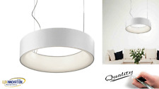 Lampada a sospensione circolare in metallo moderno SOS00010 pan lampadario