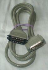 Vintage Genuine HP DeskJet DesignJet PaintJet Printer Parallel Cable 24542D