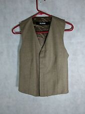 Raf Simons AW 2010 V Neck Gillet Striped Vest Sample Size 46