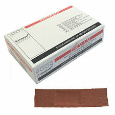 1 Box of 100 Steroplast Premium 2x7.5cm Fabric Ultra Heavy Duty Medium Plasters