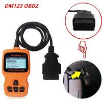 Car Scanner Diagnostic Data Code Reader Check Engine EOBD OBD2 OM123 Hand-held