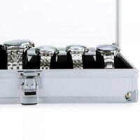1x 12 Grid Slots Organizer Watch Display Box Jewelry Storage Holder Case SR43