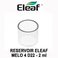 Réservoir / Tube Pyrex ELEAF MELO 4 D22 - 2ML - pour MELO 4 D22 - AUTHENTIQUE