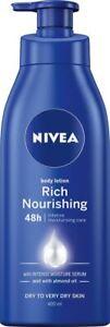 NIVEA Rich Nourishing Moisturising Body Lotion & Moisturiser with Intensive Mois