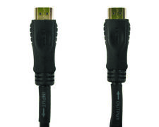 GC1337 50 Metres newlink HDMI Male to Male hi speed+ ethernet ofc cable lead