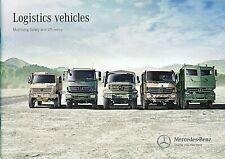 Mercedes Benz Military Logistic Vehicles