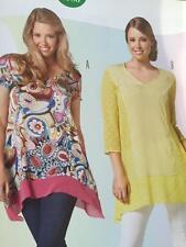 Burda Sewing Pattern 6786 Misses Plus Size Tunic Size 18-34 New
