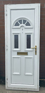 White UPVC Front, Back, Garage Door. Pub shed. Very Narrow. Offers
