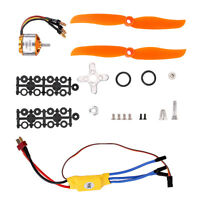 RC 2200KV Brushless Motor 2212-6 + 30A ESC + Free Mount fits Rc Plane Helicopter