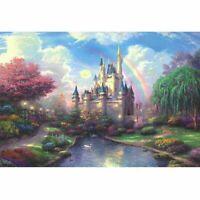 1000 pezzi Puzzle per adulti Difficili crescenti notturni Paesaggio Castello