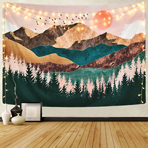 Sevenstars Mountain Tapestry Forest Tree Tapestry Sunset Tapestry Nature Wall x