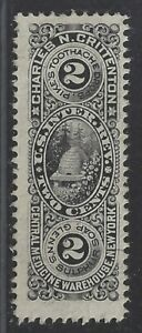 Private Die Proprietary Medicine Revenue Stamp RS64b